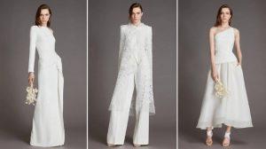 Ролан Муре представил коллекцию свадебных платьев Roland Mouret White 2021