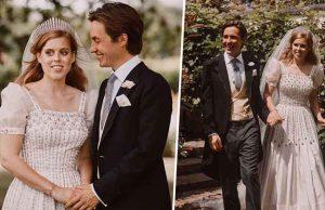 Королевская свадьба: принцесса Беатрис вышла замуж в платье Елизаветы II