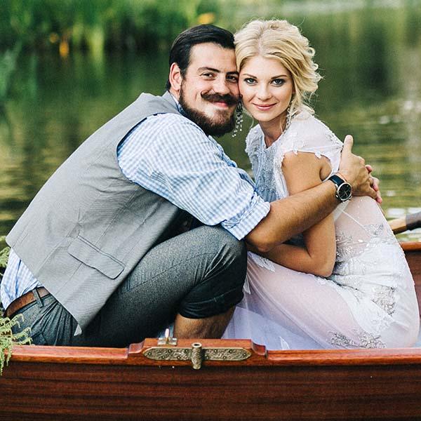 Сон в летнюю ночь: свадьба на берегу реки