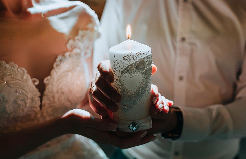 Свадебные традиции: семейный очаг