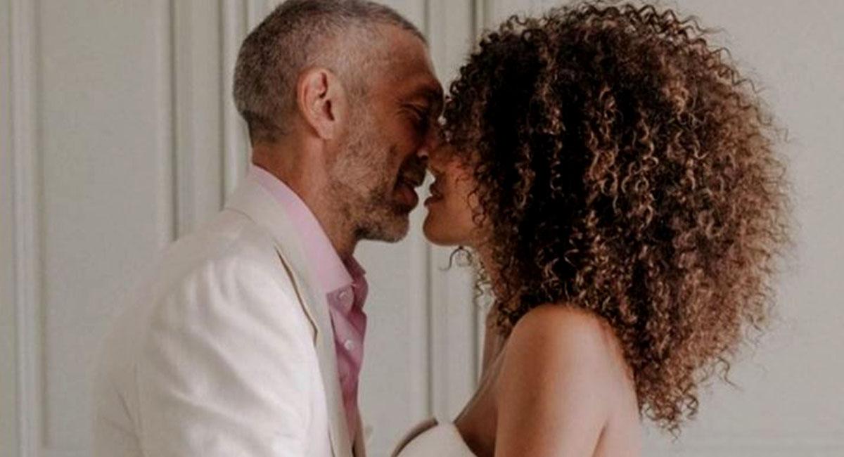 Венсан Кассель и Тина Кунаки отметили вторую годовщину свадьбы