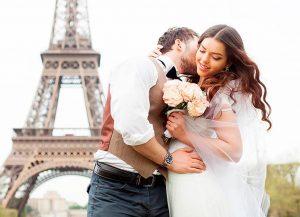 Французская свадьба: необычные традиции