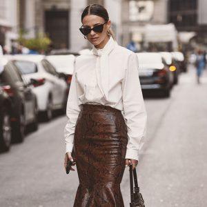 Экокожа: как носить и с чем сочетать главный тренд 2020