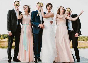 Свадебная вечеринка: модный формат