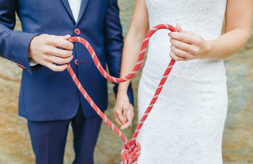 Свадебные традиции: tie the knot, или завязывание узла