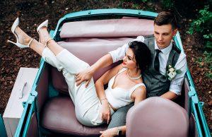 Свадебный костюм и комбинезон: стильная альтернатива платью невесты