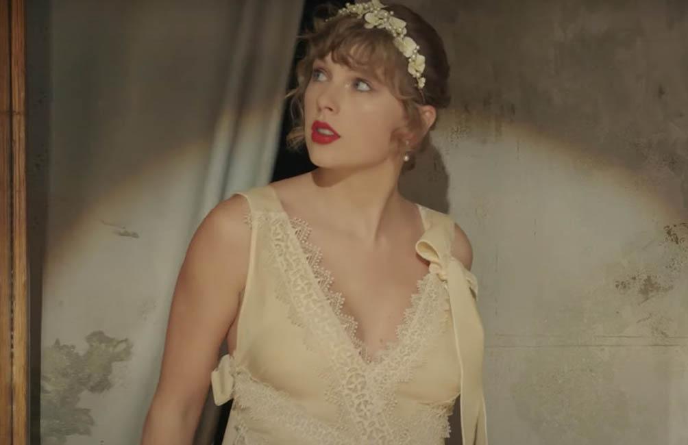 Тейлор Свифт предстала в свадебном платье в клипе «Willow»