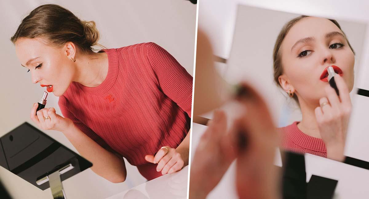 Лили-Роуз Депп показала, как создаются помады Chanel