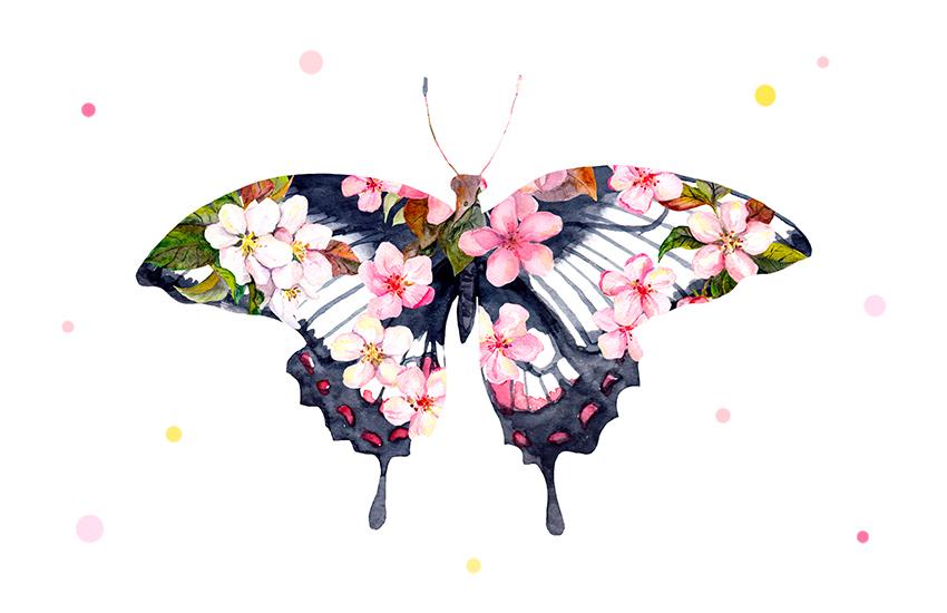 Порхай как бабочка: как украшения с насекомыми стали модным трендом