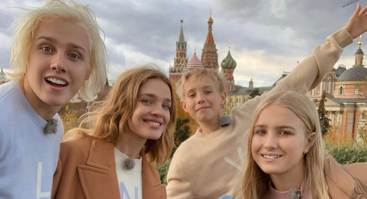 Наталья Водянова знакомит детей с Россией в трейлере «Русских каникул»