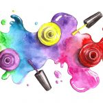 Радужные перспективы: 7 идей разноцветного маникюра