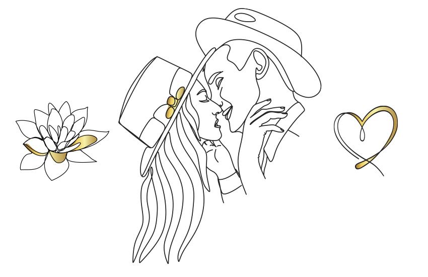 Креативная романтика: 6 оригинальных символов любви