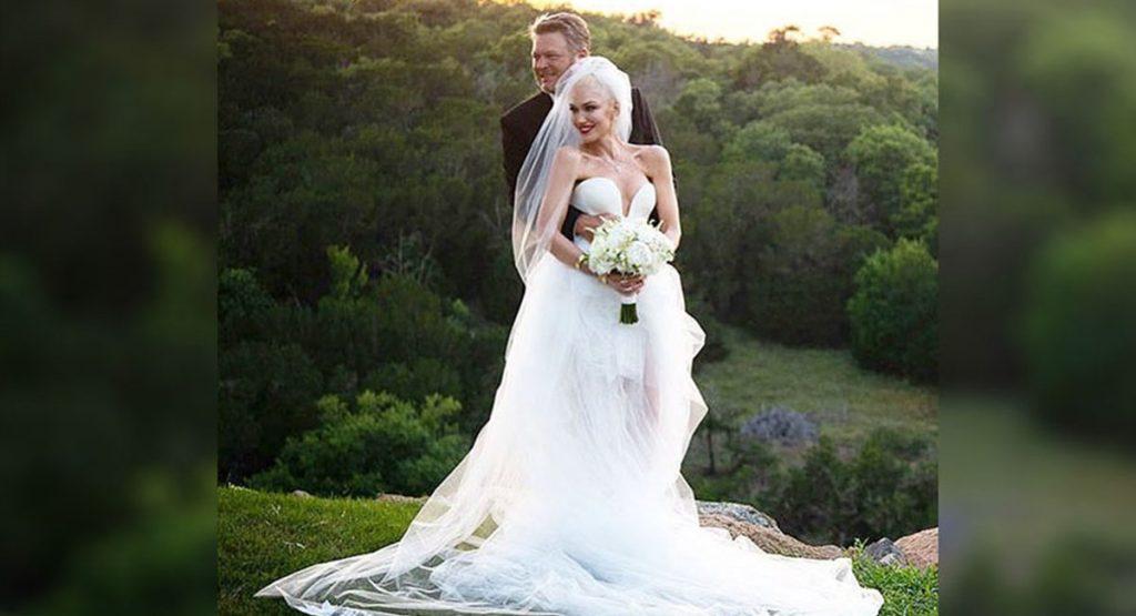 Гвен Стефани тайно вышла замуж